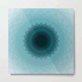 The eye of flower Metal Print
