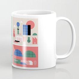 City Map Fragment III Coffee Mug