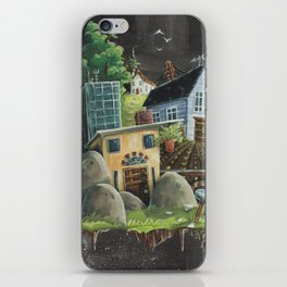 Isolated Chaos iPhone Skin