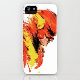 Fastest man  iPhone Case