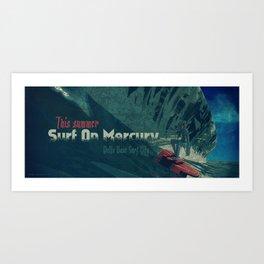 Surf Up! Art Print