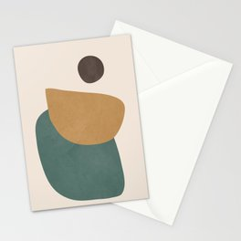 Abstract Minimal Shapes III Stationery Cards