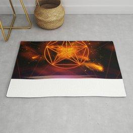 Pentagram Rug