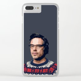 Jemaine Clement Clear iPhone Case
