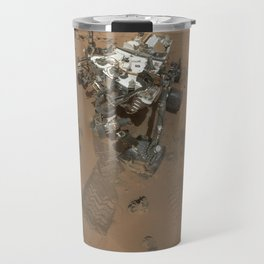 NASA Mars Curiosity's 'Rocknest' Workplace High definition Print Travel Mug