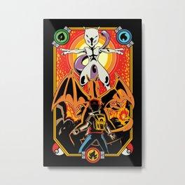 Epic Pocket Monster Metal Print