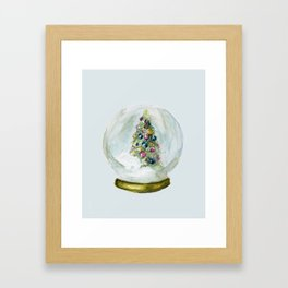Snow Globe  Framed Art Print