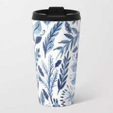 indigo scatter Travel Mug