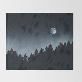 Under Moonlight Throw Blanket