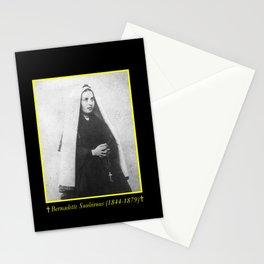 Billard Perrin - Portrait of Bernadette Soubirous 2 Stationery Cards