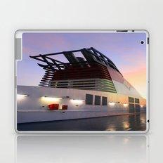 Sitting Starboard Laptop & iPad Skin