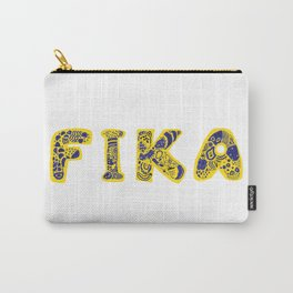 Fika- Folk style Carry-All Pouch