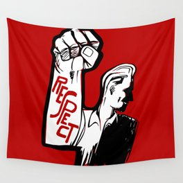 Respect!! Wall Tapestry