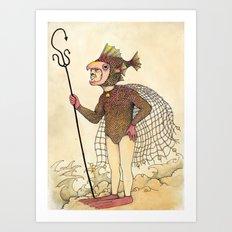 El pescado Art Print