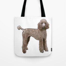Elegant Poodle Tote Bag