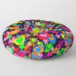 Groovy Love! Floor Pillow