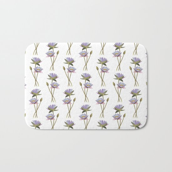 Lotus flowers Bath Mat