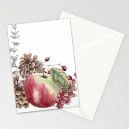 Winter Composition Stationery Cards