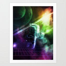 Virtual Space Art Print