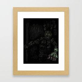 Fazbears Fright Framed Art Print