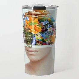 Natural Streissand Travel Mug