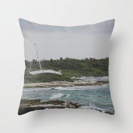 Costa Maya Throw Pillow