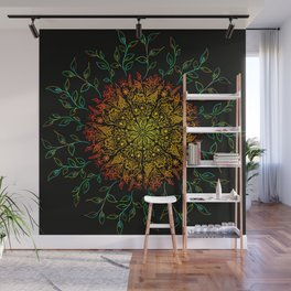 Floral patterns Wall Mural