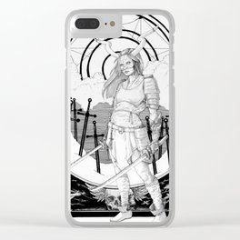 Prophet of War Clear iPhone Case