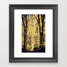 This way Framed Art Print