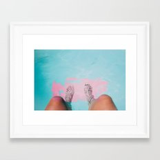 Both Feet In #society6 #buyart Framed Art Print