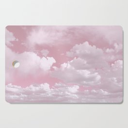 Clouds in a Pink Sky Cutting Board