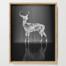 Deer in the Spotlight Serving Tray
