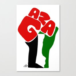 GAZA Canvas Print