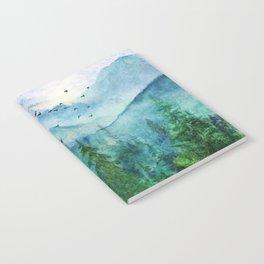 Spring Mountainscape Notebook
