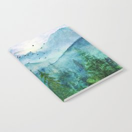 Spring Mountainscape Notebook