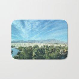Palm Desert Mountains California Bath Mat