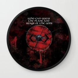 Bjorn's Sheild Wall Clock