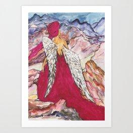 Jorney of the Muse Art Print
