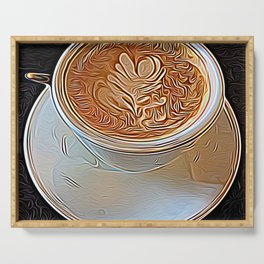 Not Your Ordinary Coffee Serving Tray