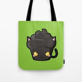 Spooky Cupcake - Black Cat Tote Bag