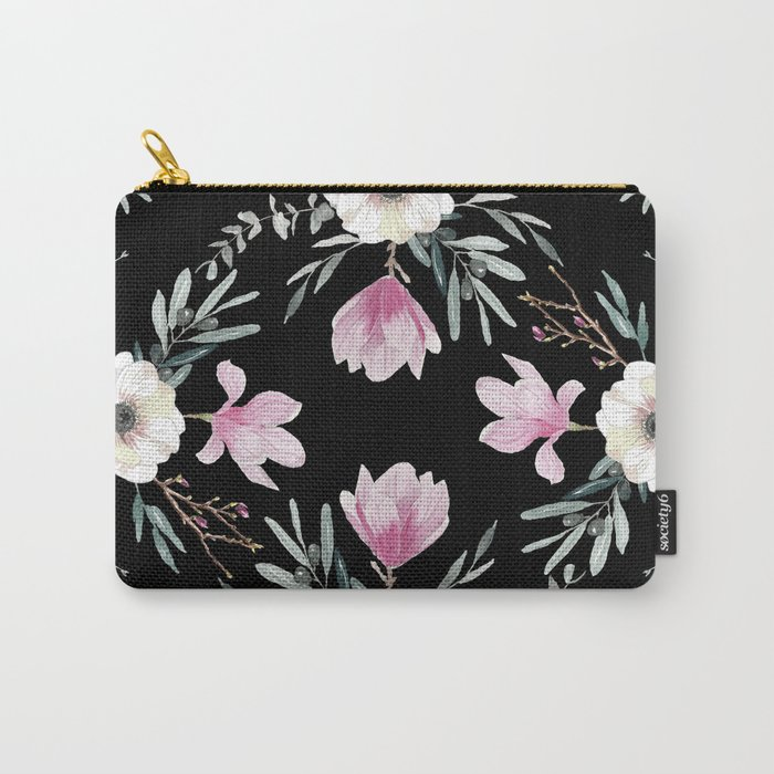 Magnolias, Eucalyptus & Anemones Carry-All Pouch