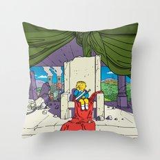 Bartkira / Neo-Springfield Poster  Throw Pillow