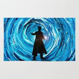 Doctor Inside Time Vortex Rug