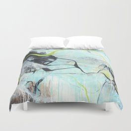 Tangled - Square Abstract Expressionism Duvet Cover