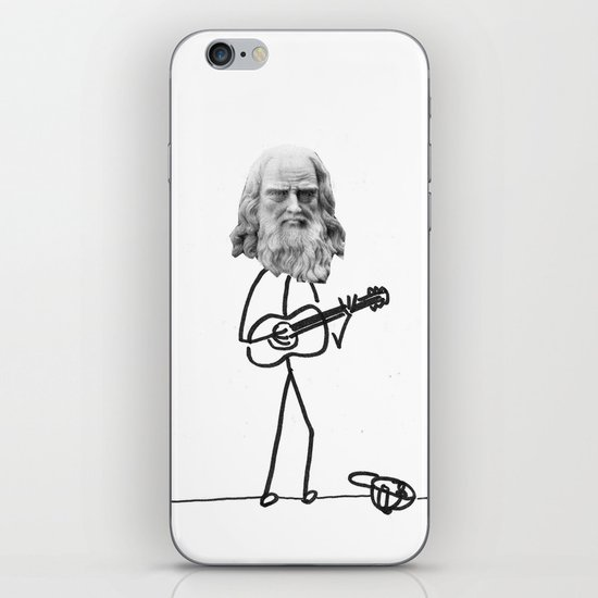 the struggling artist iPhone & iPod Skin