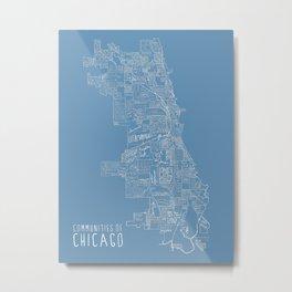 Communities of Chicago Metal Print