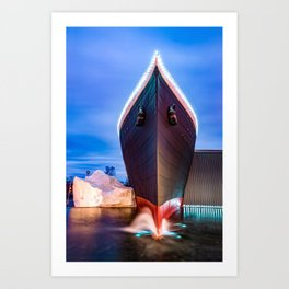 Branson Missouri Landmark Ship Art Print