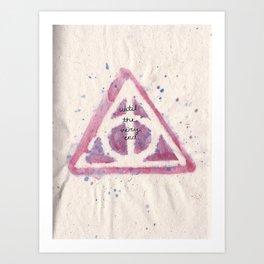 deathy hallows Art Print