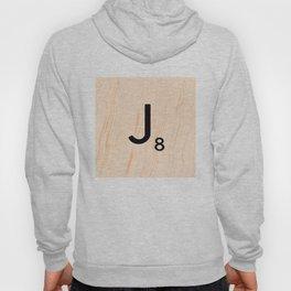 Scrabble Letter J - Large Scrabble Tiles Hoody