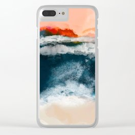 water world Clear iPhone Case